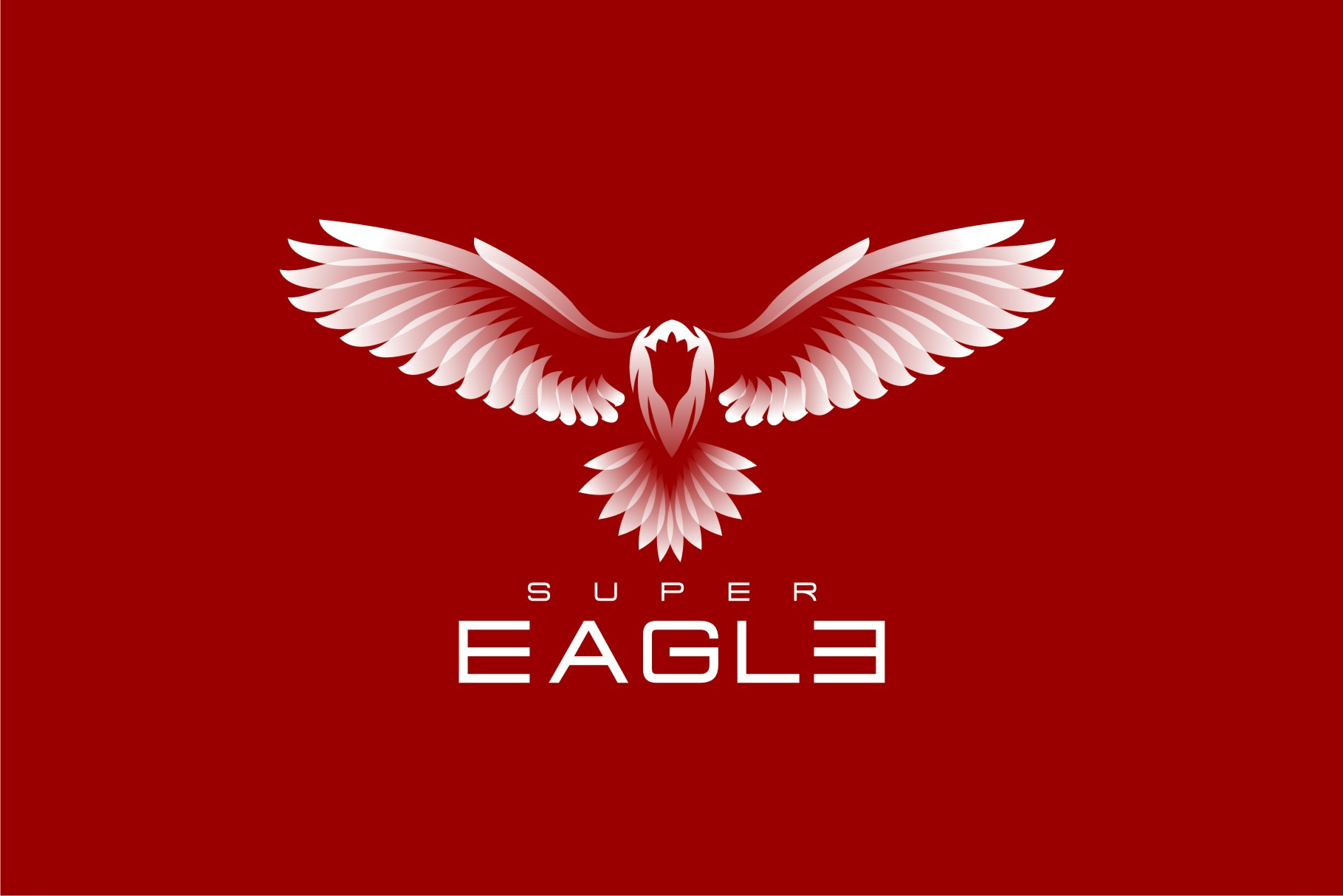 Download Free Super Eagle Graphic By Herulogo Creative Fabrica for Cricut Explore, Silhouette and other cutting machines.