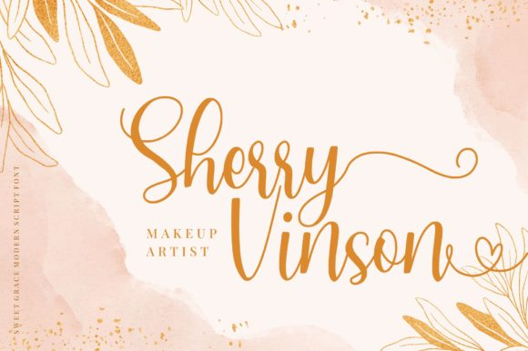 Download Free Sweet Grace Font By Goodjavastudio Creative Fabrica for Cricut Explore, Silhouette and other cutting machines.