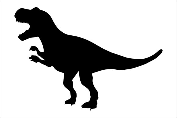 Download Free T Rex Cut File Graphic By Bn3300877 Creative Fabrica for Cricut Explore, Silhouette and other cutting machines.