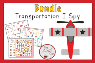 Transportation I Spy Graphic Teaching Materials By marie9