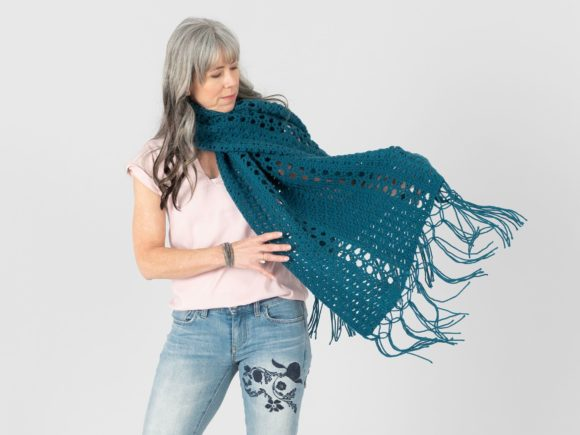 Twilight View Wrap Crochet Pattern Graphic Crochet Patterns By Knit and Crochet Ever After - Image 2
