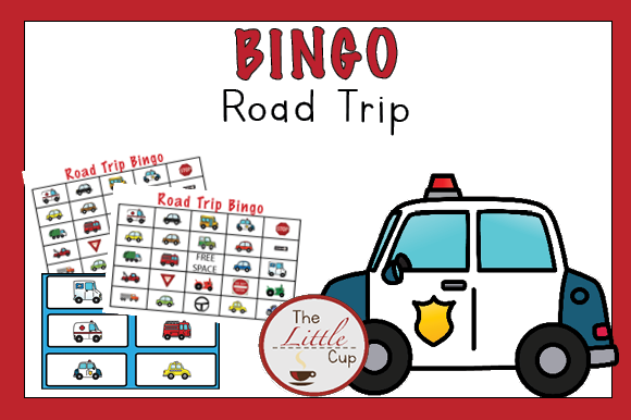 Vehicle Road Trip Bingo Graphic Teaching Materials By marie9