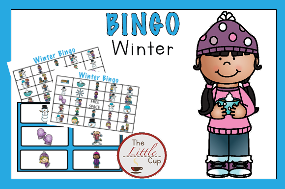 Download Free Winter Bingo Game Graphic By Marie9 Creative Fabrica for Cricut Explore, Silhouette and other cutting machines.