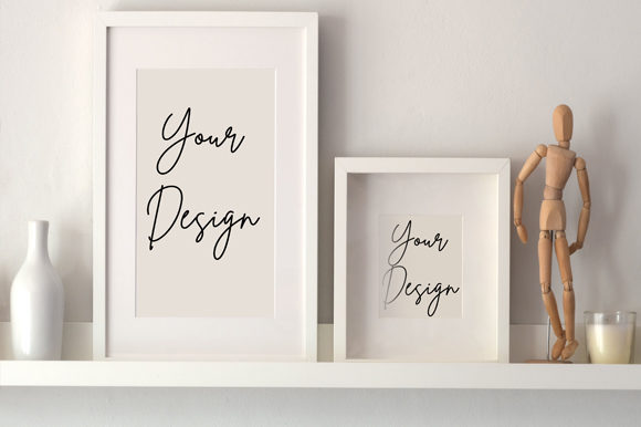 Couple Aesthetic Frame Board Mockup Graphic Product Mockups By knou