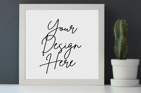 Download Free Simple Aesthetic Frame Board Mockup Grafico Por Knou Creative for Cricut Explore, Silhouette and other cutting machines.