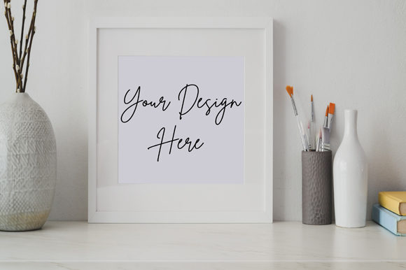Simple Aesthetic Frame Board Mockup Graphic Product Mockups By knou