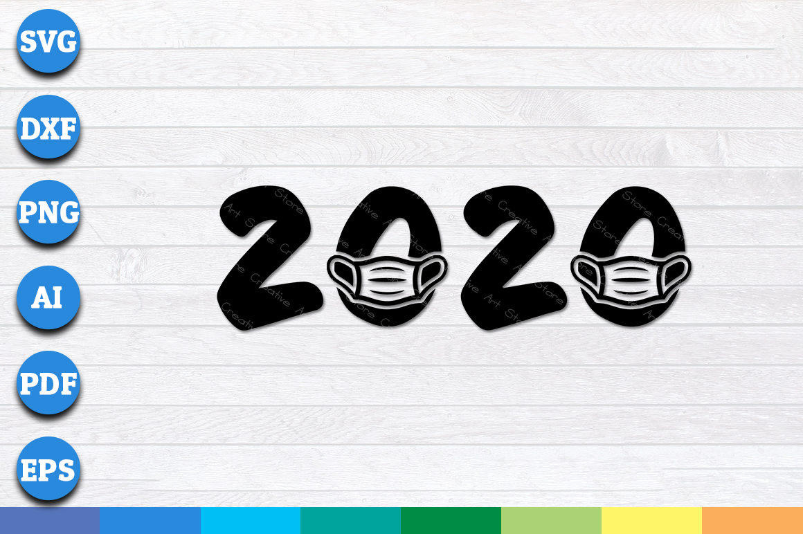 Download Free 2020 Face Mask Protection Graphic By Aartstudioexpo Creative SVG Cut Files