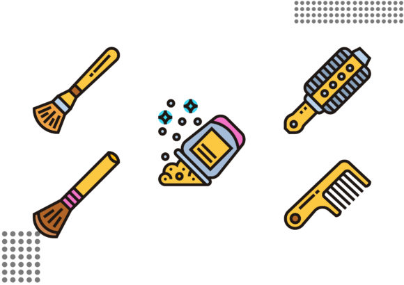 Download Free 65 Cosmetology Designs Graphics SVG Cut Files