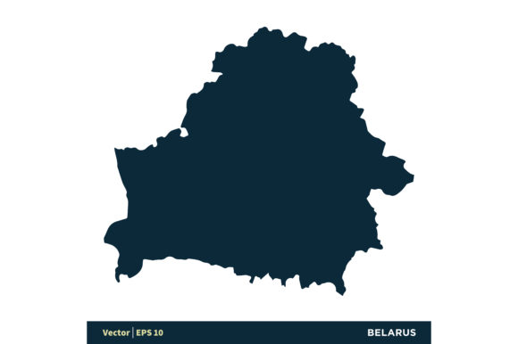 Download Free Belarus Europe Countries Map Vector Graphic By Soponyono for Cricut Explore, Silhouette and other cutting machines.