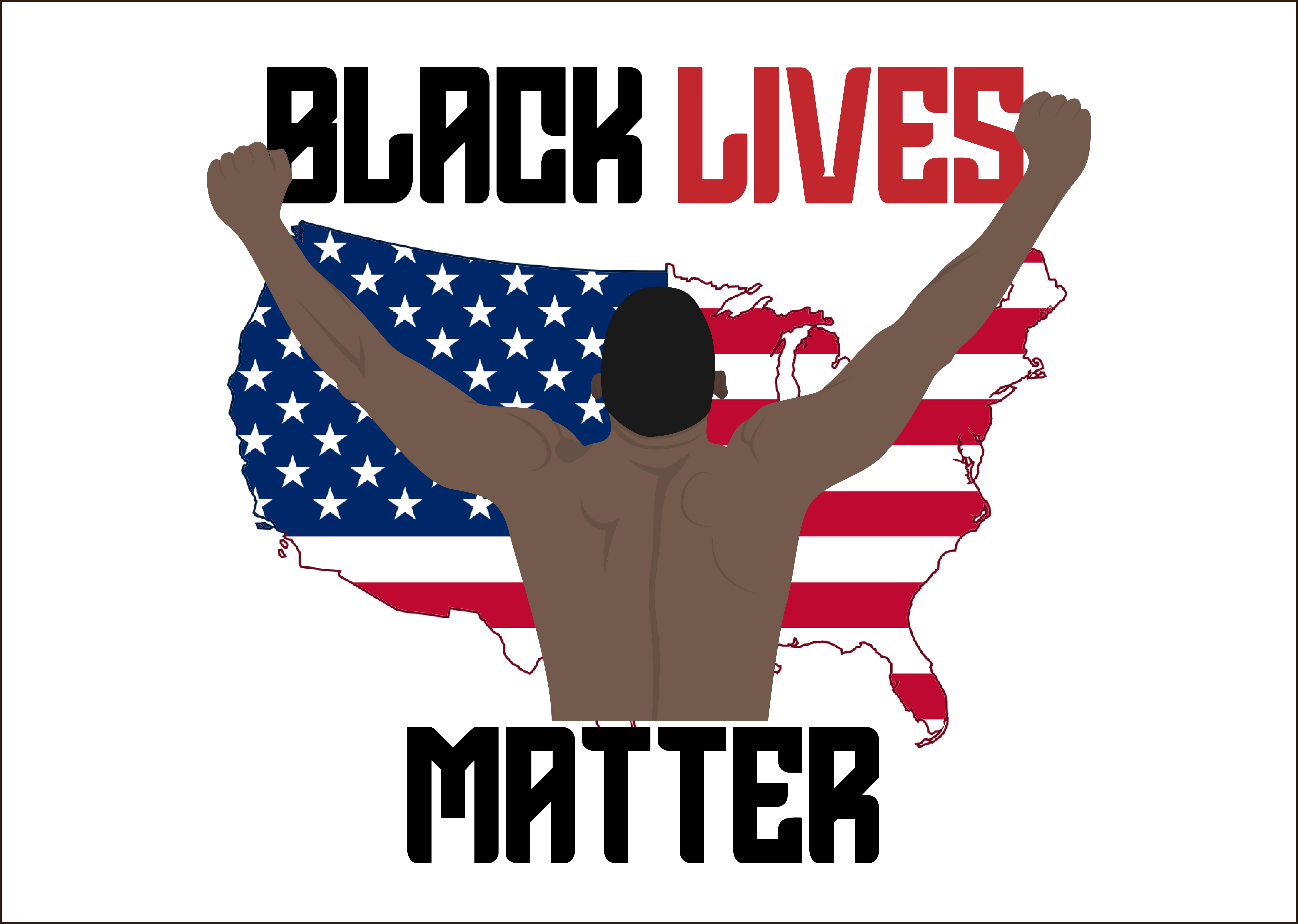 Download Free Black Lives Matter 5 Graphic By Studioisamu Creative Fabrica for Cricut Explore, Silhouette and other cutting machines.