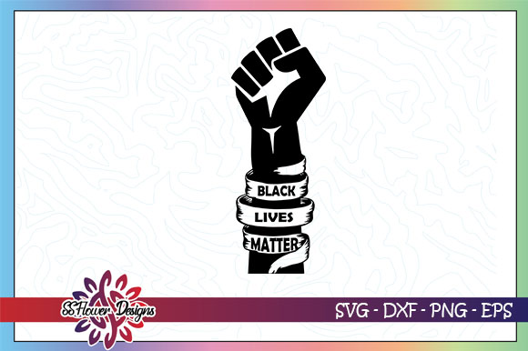 Download Free Black Lives Matter Graphic By Ssflower Creative Fabrica for Cricut Explore, Silhouette and other cutting machines.