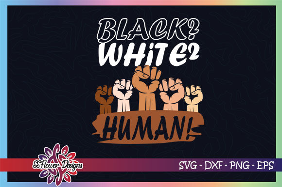 Download Free Black White Human Raising Hands Graphic By Ssflower for Cricut Explore, Silhouette and other cutting machines.