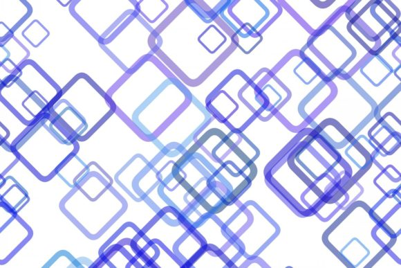 Download Free Blue Seamless Geometric Square Pattern Graphic By Davidzydd for Cricut Explore, Silhouette and other cutting machines.