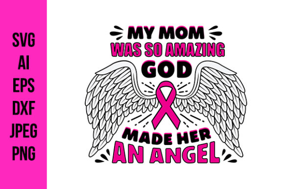 Print on Demand: Breast Cancer Quotes. Good for Cricut Graphic Crafts By Tosca Digital