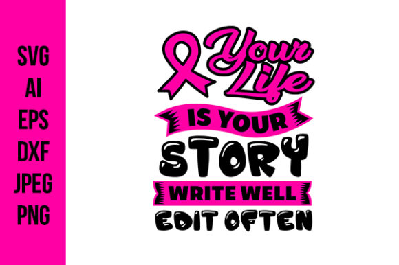 Breast Cancer Quotes File Graphic By Tosca Digital Creative