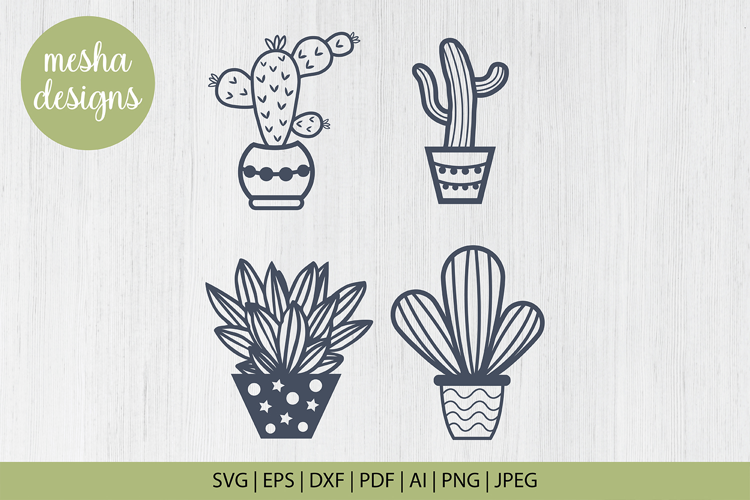 Download Free Catus Plant Cut File Template Graphic By Diycuttingfiles Creative Fabrica for Cricut Explore, Silhouette and other cutting machines.