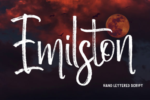 Print on Demand: Emilston Script & Handwritten Font By Stripes Studio