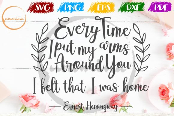 Print on Demand: Every Time I Put My Arms Around You Graphic Crafts By Uramina