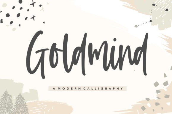 Print on Demand: Goldmind Script & Handwritten Font By Balpirick