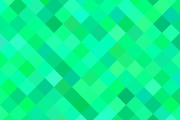 Green Abstract Geometrical Pattern Graphic Patterns By davidzydd