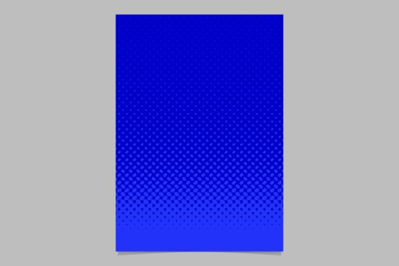 Download Free Halftone Blue Brochure Background Graphic By Davidzydd for Cricut Explore, Silhouette and other cutting machines.
