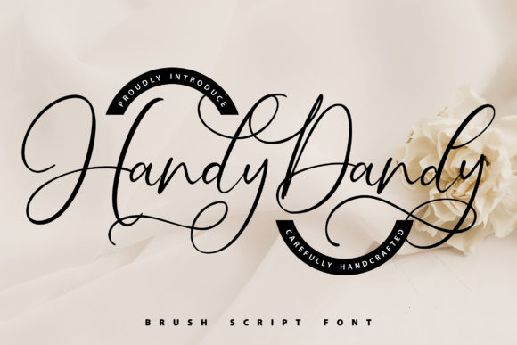 Print on Demand: Handy-Dandy Script & Handwritten Font By Vunira
