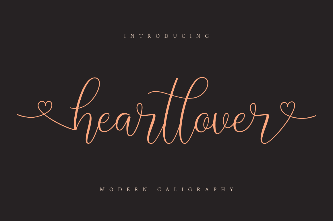 Download Free Heartlover Font By Haffa Studio Creative Fabrica for Cricut Explore, Silhouette and other cutting machines.