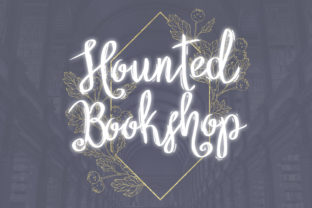 Print on Demand: Hounted Bookshop Decorative Font By DIGI Potwor