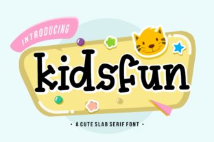 Print on Demand: Kidsfun Display Font By Balpirick