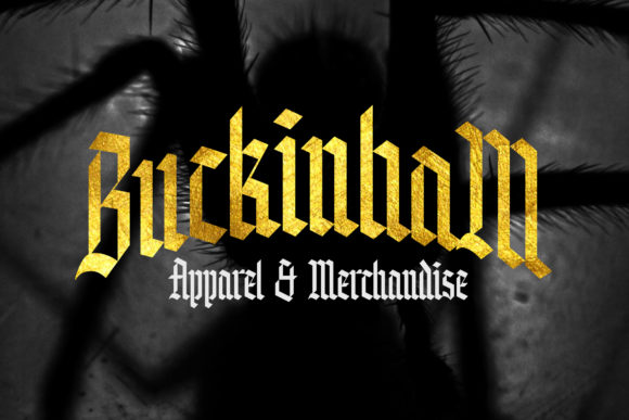 Print on Demand: Knight Anomaly Blackletter Font By Arterfak Project - Image 10