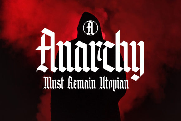 Print on Demand: Knight Anomaly Blackletter Font By Arterfak Project - Image 3