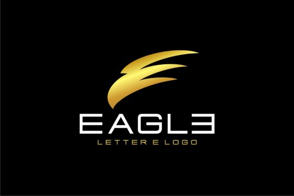Download Free Letter E Eagle Head Graphic By Herulogo Creative Fabrica for Cricut Explore, Silhouette and other cutting machines.