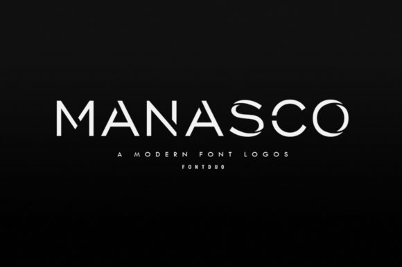 Print on Demand: Manasco Sans Serif Font By lickermelody
