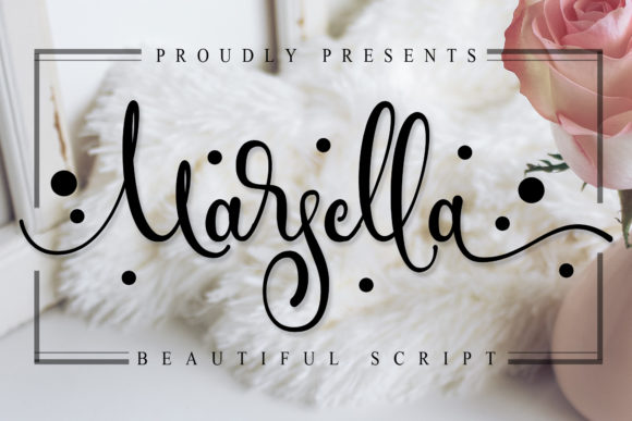 Print on Demand: Marsella Script & Handwritten Font By Doehantz Studio