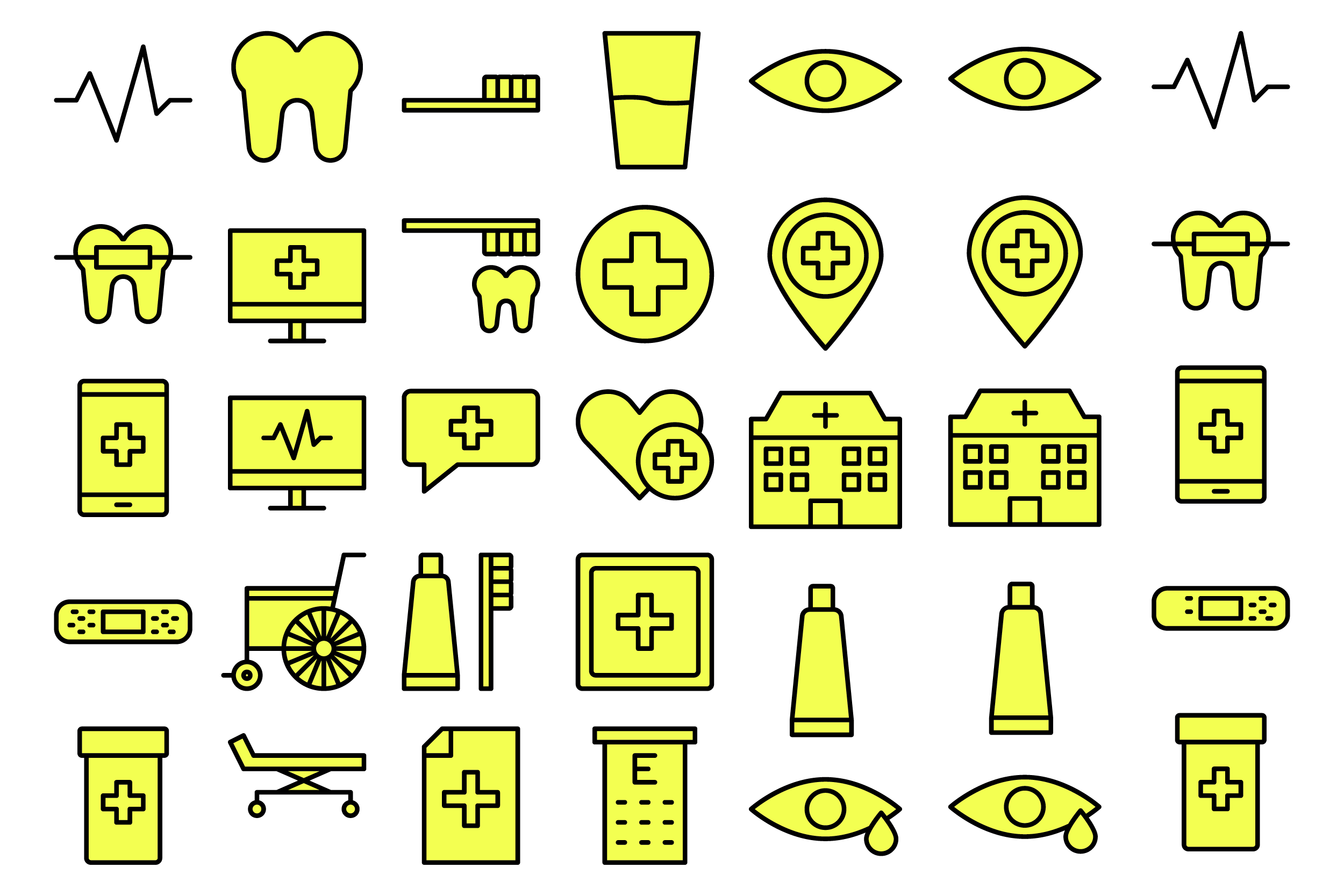 Download Free Medical Healthcare Graphic By Designvector10 Creative Fabrica for Cricut Explore, Silhouette and other cutting machines.