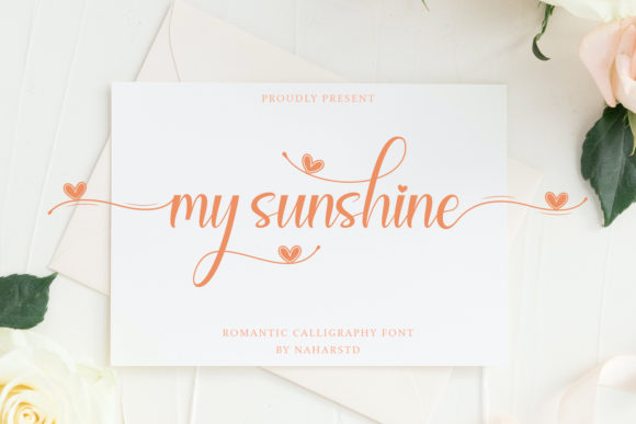 Print on Demand: My Sunshine Script & Handwritten Font By Naharstd