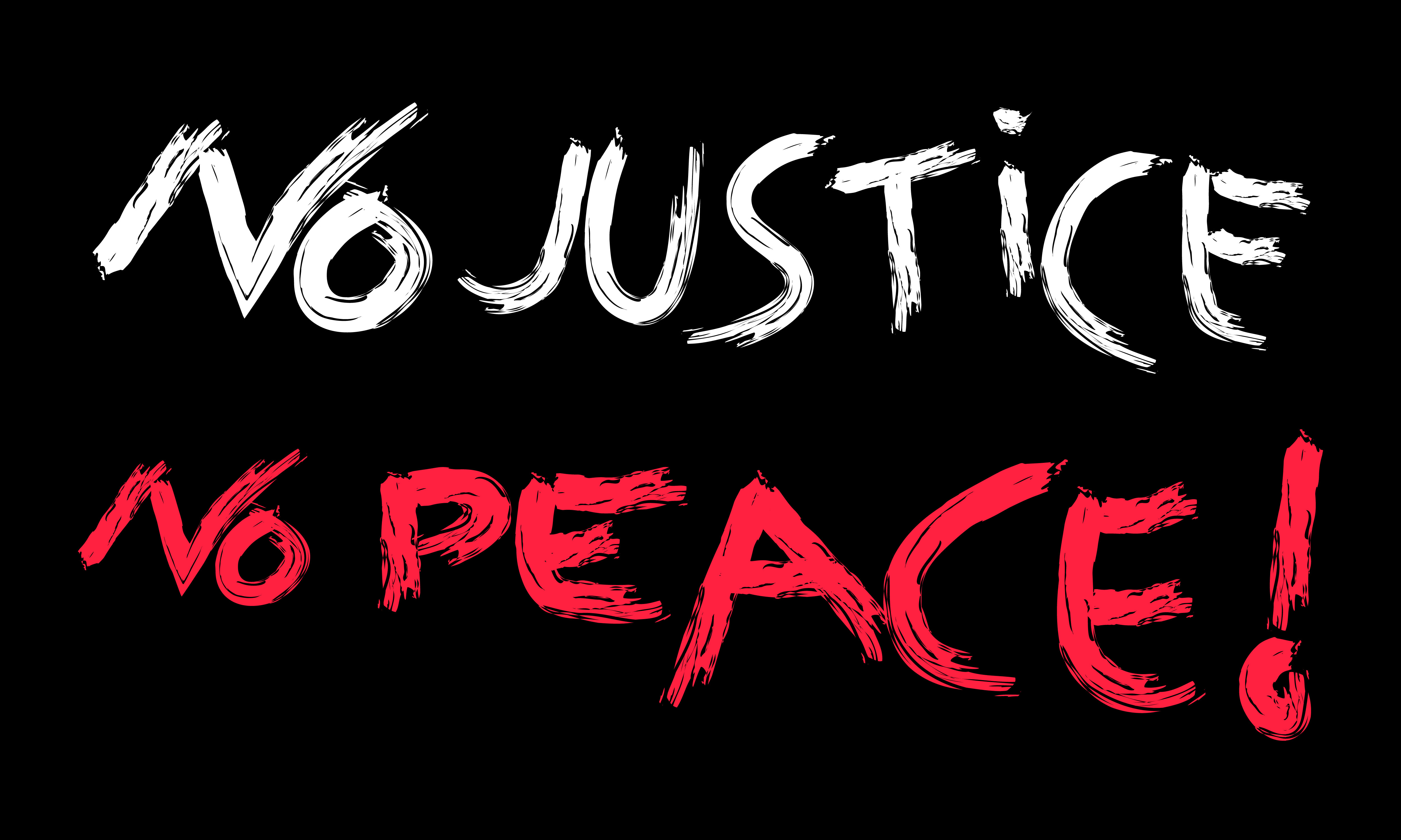 Download Free No Justice No Peace Quotes For Justice Graphic By Be Young for Cricut Explore, Silhouette and other cutting machines.