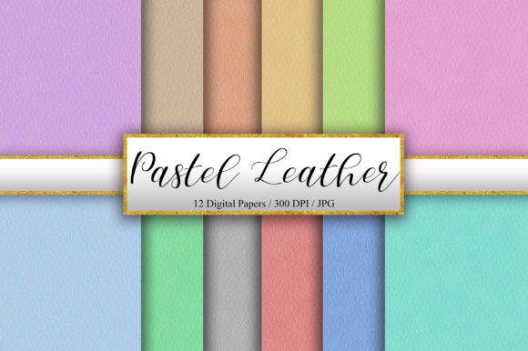 Pastel Leather Texture Background Graphic Backgrounds By PinkPearly