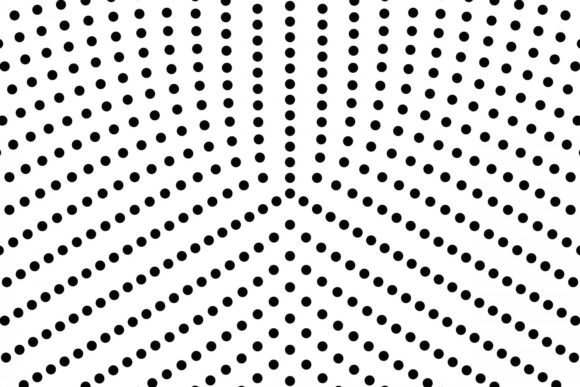 Download Free Radial Halftone Dot Pattern Graphic By Davidzydd Creative Fabrica for Cricut Explore, Silhouette and other cutting machines.