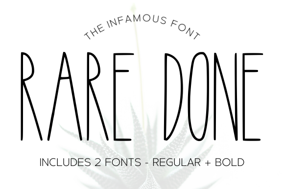 Print on Demand: Rare Done Script & Handwritten Font By Sage Makers