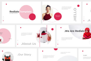Print on Demand: Redialo - Brand Guideline Powerpoint Graphic Presentation Templates By Giant Design