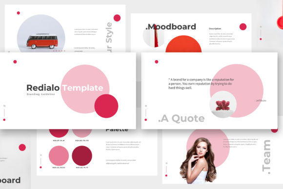 Download Free Redialo Brand Guideline Powerpoint Graphic By Giant Design SVG Cut Files