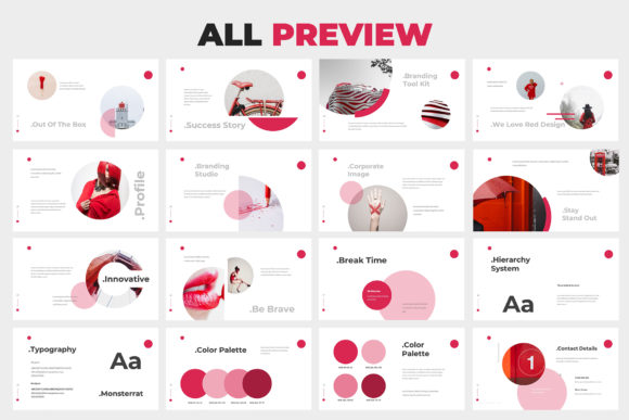 Download Free Redialo Brand Guideline Powerpoint Graphic By Giant Design Creative Fabrica SVG Cut Files