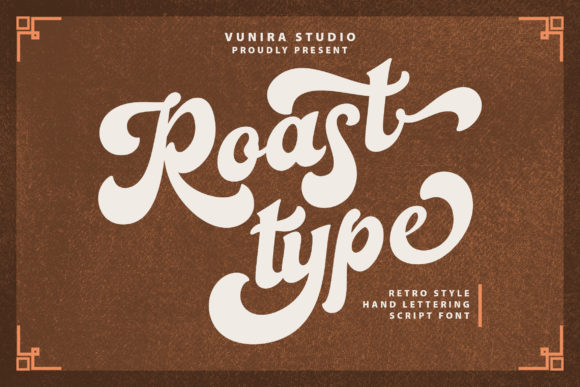 Print on Demand: Roast Type Script & Handwritten Font By Vunira