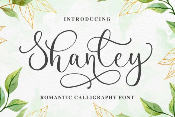 Print on Demand: Shanley Script & Handwritten Font By Blankids Studio