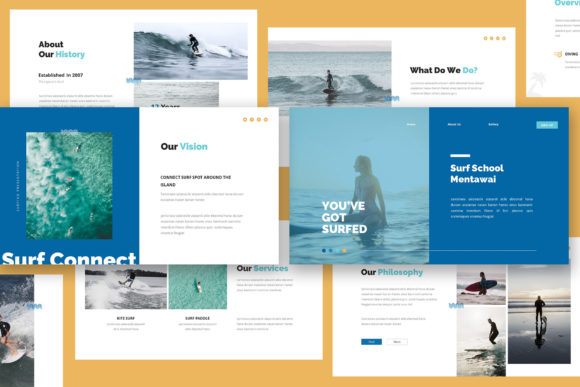 Download Free Surfing Keynote Presentation Graphic By Giant Design Creative for Cricut Explore, Silhouette and other cutting machines.