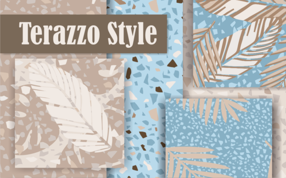 Print on Demand: Terazzo Style Graphic Patterns By Em-Pal