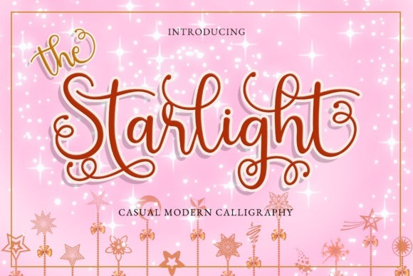 Print on Demand: The Starlight Script & Handwritten Font By airotype - Image 1