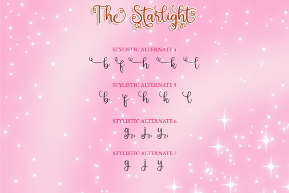 Print on Demand: The Starlight Script & Handwritten Font By airotype - Image 9