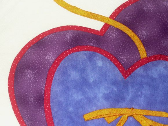 Two Hearts Designer Quilt Block Pattern Graphic Quilt Patterns By dena.dale.crain - Image 3